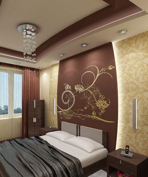 Потолки для спальни своими руками фото